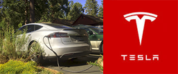 tesla super charging station